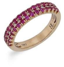 Bony Levy Ruby & Diamond Ring