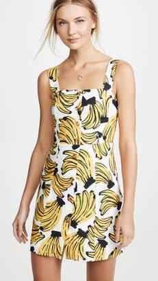 FARM Rio Bossa Banana Mini Dress