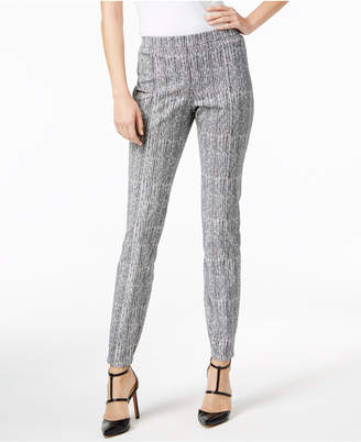 Alfani Printed Straight-Leg Pants, Created for Macy's $74.50 thestylecure.com