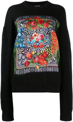 Versace floral print sweater