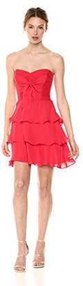 Parker Women's Lanelle Combo Strapless Tiered Dress