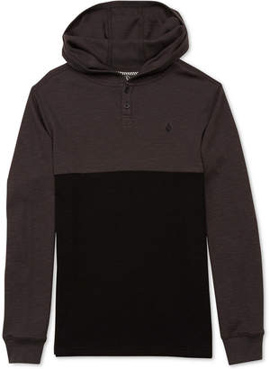 Volcom Little Boys Murphy Thermal Colorblocked Hoodie