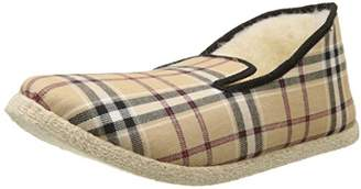 Rondinaud Men's CASTAN Low-Top Slippers, (Beige)