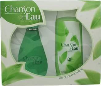 Coty Chanson Deau Gift Set 100mL Edt + 200mL Shower Gel For Women