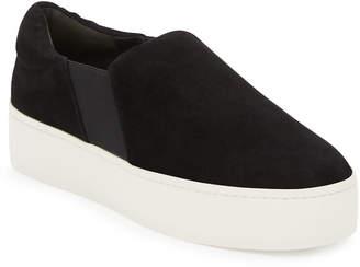 e68b6551b5d Vince Warren Platform Sneakers - Black - ShopStyle