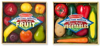 Melissa & Doug 'Play-Time Produce Fruit and Vegetables' Play Food