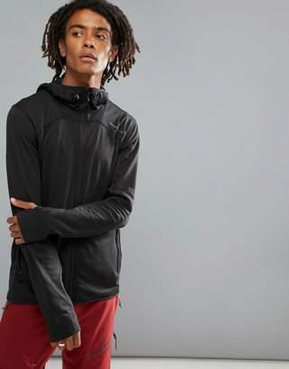 O'Neill Activewear Easy Full Zip Hoodie Hyperdry in Black