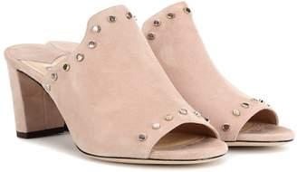 Jimmy Choo Myla open-toe suede mules