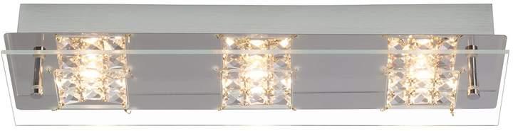 EEK A+, LED-Wand- und Deckenleuchte Martino 3-flammig