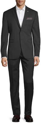 Original Penguin Crosshatch Slim-Fit Suit