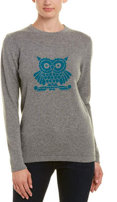 Two Bees Cashmere Owl Sweater