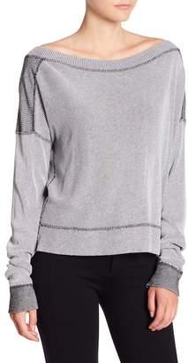 Michael Stars Reversible Long Sleeve Sweater