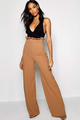 boohoo Tall Maya Wide Leg Trousers