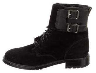 Belstaff Suede Ankle Boots Black Suede Ankle Boots