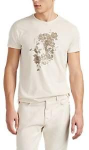 John Varvatos Men's Skull-Print Cotton T-Shirt