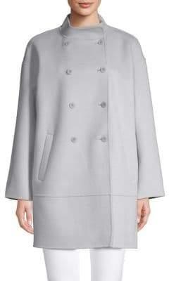 Eileen Fisher Oversized Stand Collar Coat