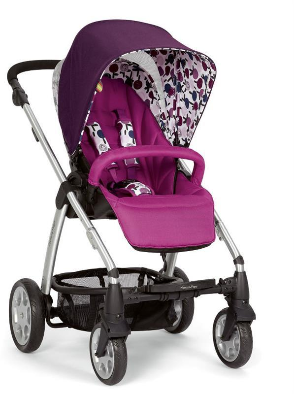 Sola Stroller - Plum by Mamas and Papas