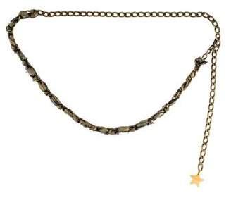 Lanvin Chain-Link Embellished Belt