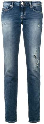 Diesel Graceyene distressed jeans