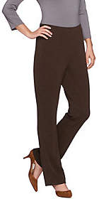 Susan Graver Passport Knit Comfort Waist BootCut Pants