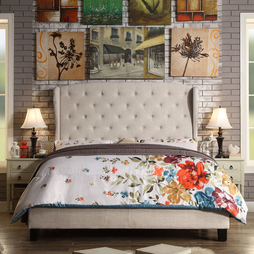 Darby Home Co Nielsen Upholstered Panel Bed