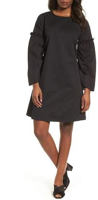 Halogen Parachute Sleeve Shift Dress (Regular & Petite)