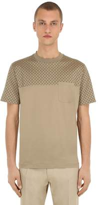 Salvatore Ferragamo Crewneck Cotton Jersey T-shirt