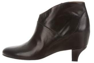 Golden Goose Leather Round-Toe Ankle Boots w/ Tags