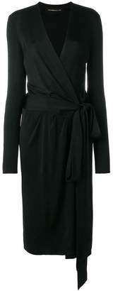Alexandre Vauthier midi wrap dress
