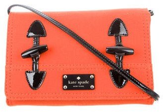 Kate Spade Kate Spade New York Wool & Patent Leather Bag