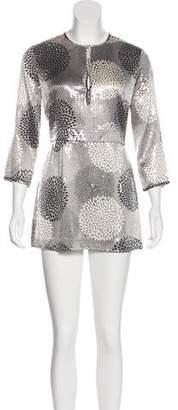Tory Burch Sequined Silk Dress w/ Tags