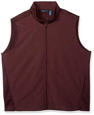 Perry Ellis Men's Big and Tall Stretch Fleece Vest