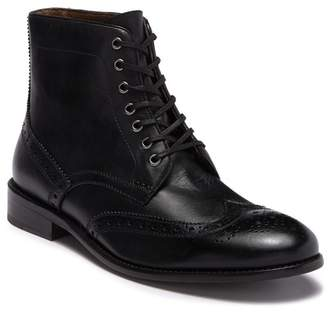 MODERN FICTION Drama Wingtip Leather Lace-Up Boot