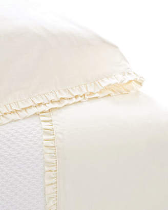 Pine Cone Hill Queen 200 Thread-Count Classic Ruffle Sheet Set