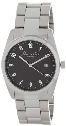 Kenneth Cole New York Women's Black Dial Bracelet Watch, 35mm