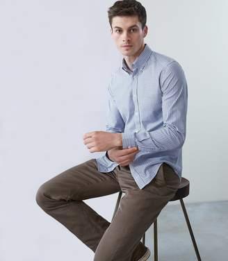 Reiss Madison Striped Button Down Oxford Shirt