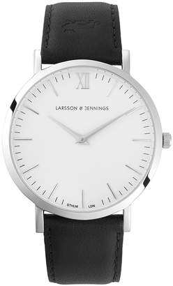 Larsson & Jennings LGN40-LBLK-C-Q-P-SW-L Lugano 40mm Watch
