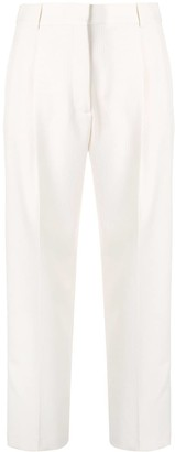 See by Chloe cropped straight leg trousers