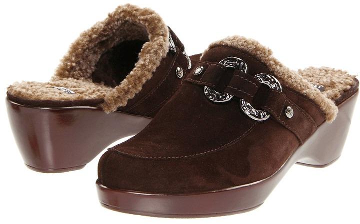 Stuart Weitzman Buckaroo (Brown Sport Suede) - Footwear