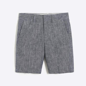 J.Crew Factory Boys' Thompson short in slub linen