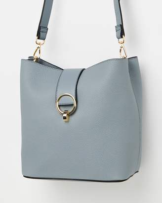 Topshop Shiv Circle Ring Bucket Bag