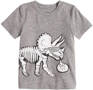 "Toddler Boy Jumping Beans ""Dig It"" Dinosaur Graphic Tee"