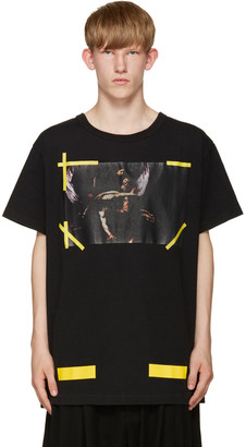Off-White Black 7 Opere T-Shirt $235 thestylecure.com