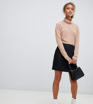 New Look mini skirt in pu