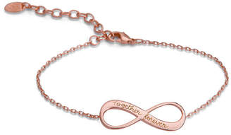 Merci Maman Personalized Infinity Chain Bracelet