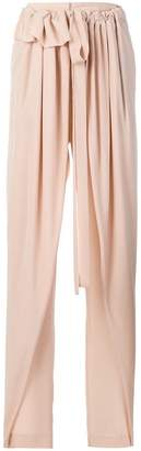 Stella McCartney belted wide-leg trousers