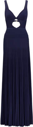 Ralph Lauren Camisole Cutout Evening Dress