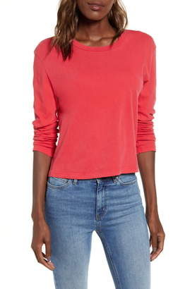 Splendid Cody Crop Knit Top