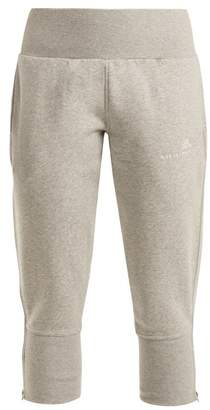 adidas by Stella McCartney Essential Cotton Blend Track Pants - Womens - Grey