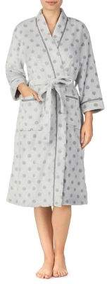 Ellen Tracy Polka Dot Robe